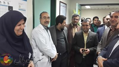 گزارش تصویری دیدار اعضای شورای اسلامی شهروشهرداربا بیماران بیمارستان روحانی بابل