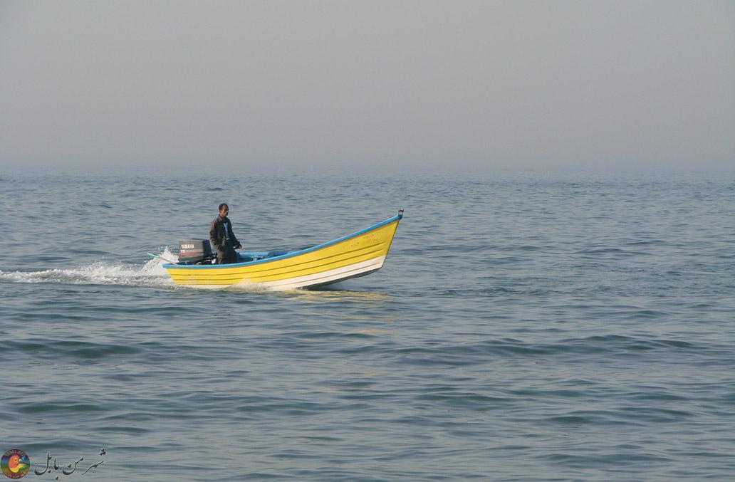 سواحل دریای مازندران در بابلسر
