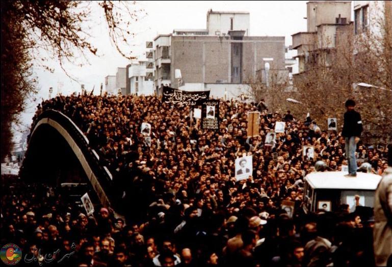 راهپیمایی عاشورای ۱۳۵۷، چهارراه کالج، تهران