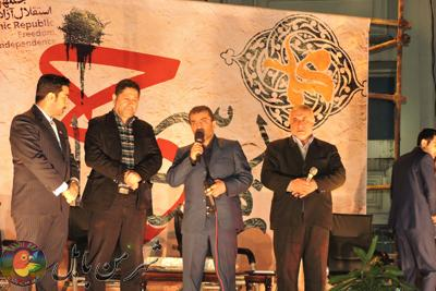برگزاری جشن بزرگ زمستان سرخ درپارک شهرداری بابل