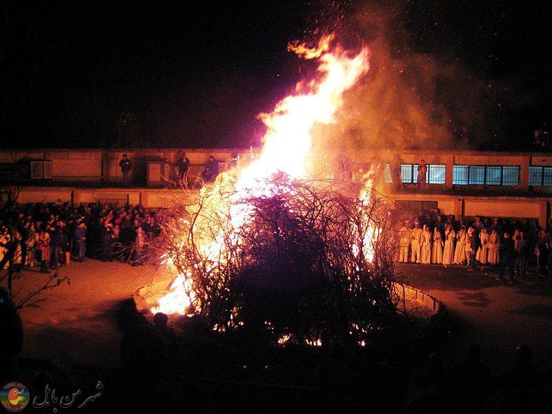 جشن سده سال ۱۳۸۹ در مارکار تهرانپارس