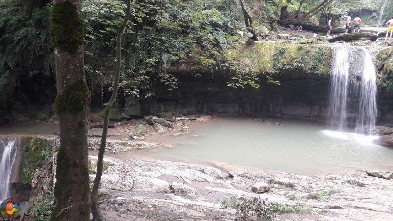 آبشار تیرکــــن ( هفت آبشار)