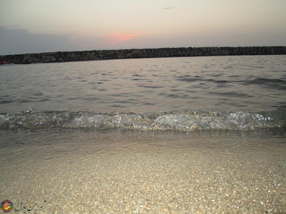 دریای زیبای مازندران